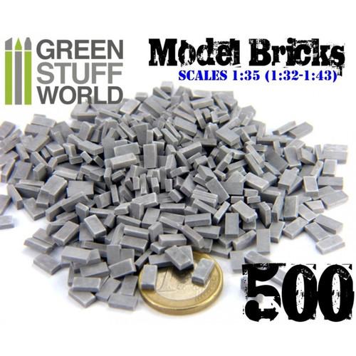 Model Bricks - Grey x500