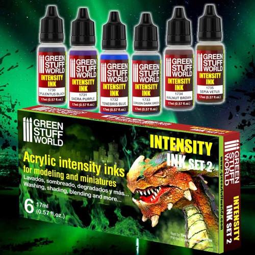 Set x6 Intensity Inks - Set 2