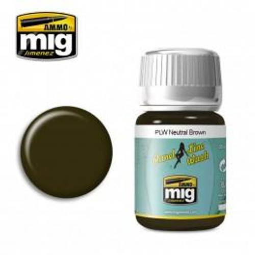 AMMO: Panel Line Wash - Neutral Brown (35ml)