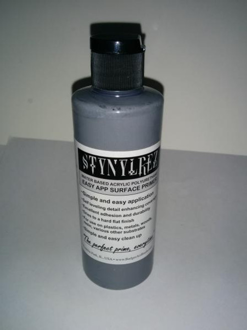 Badger Stynylrez Primer: Grey (60ml Bottle)