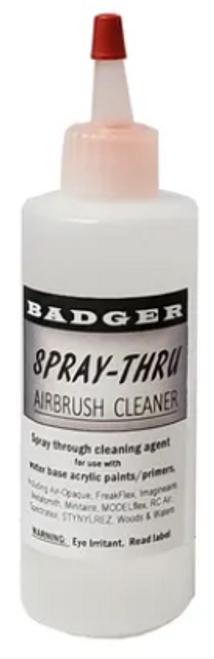 Badger Accessories: Spray-Thru Airbrush Cleaner (32oz)