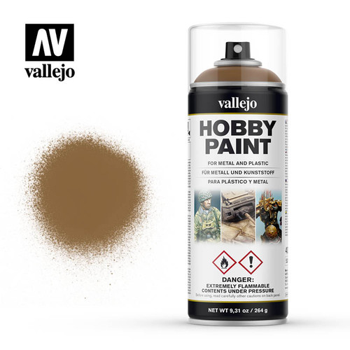 Vallejo Hobby Paint (Spray) - Leather Brown