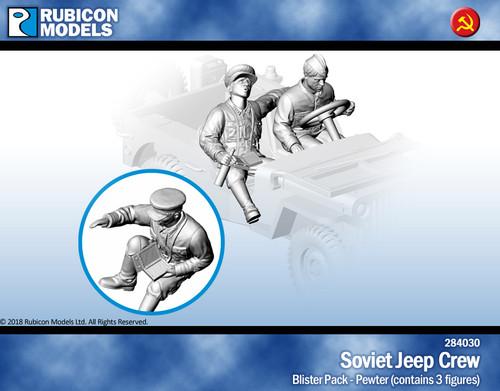 Soviet Jeep Crew- Pewter