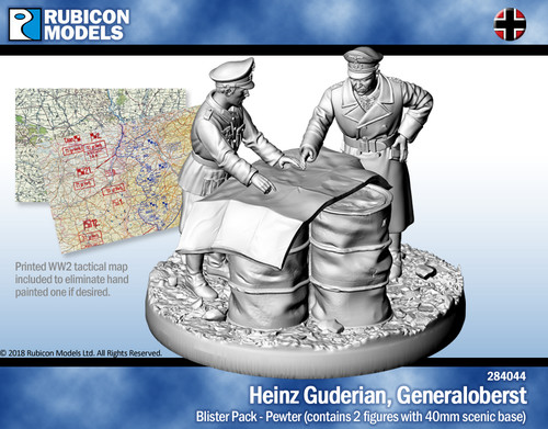 Heinz Guderian, Generaloberst (Colonel General)- Pewter