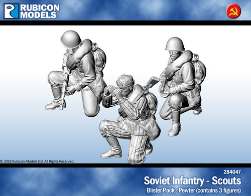 Soviet Infantry Scouts- Pewter