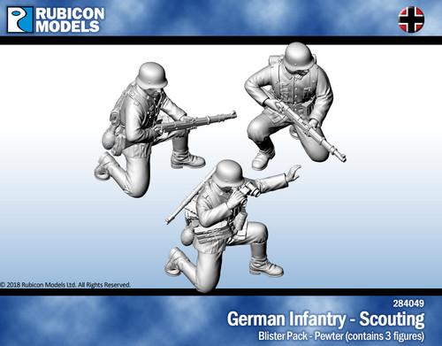 German Infantry Scouting- Pewter