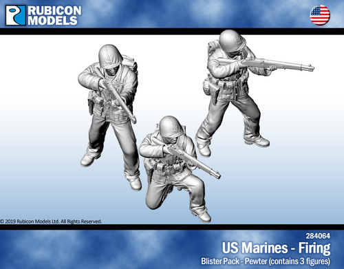 US Marines Firing- Pewter