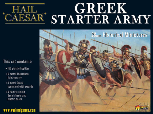 Hail Caesar: Greek Starter Army