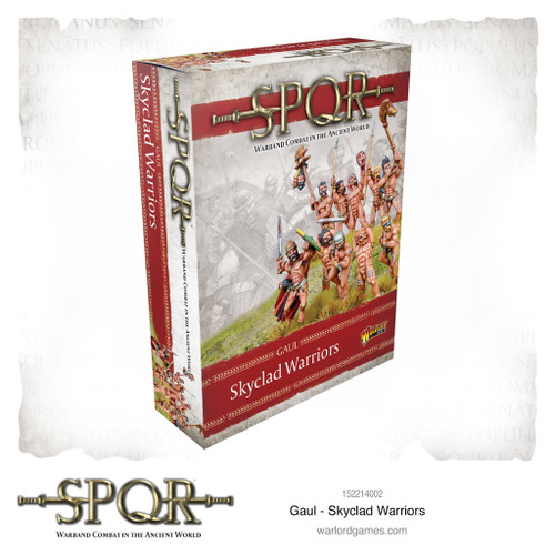 SPQR: Gaul Skyclad Warriors