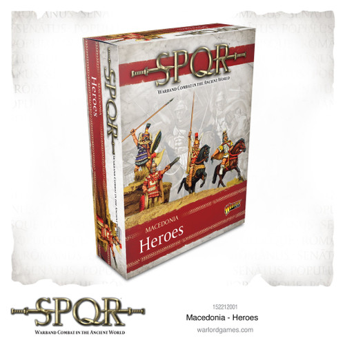 SPQR: Macedonian Heroes