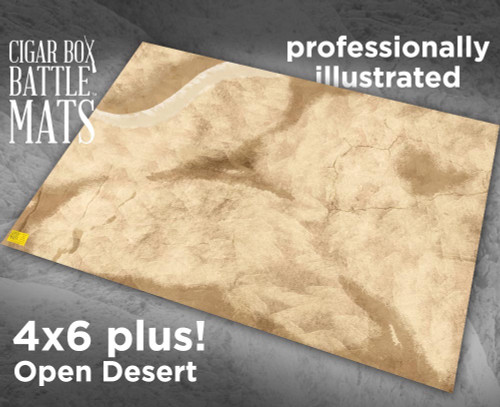 Battle Mat - Desert Warfare (Updated)