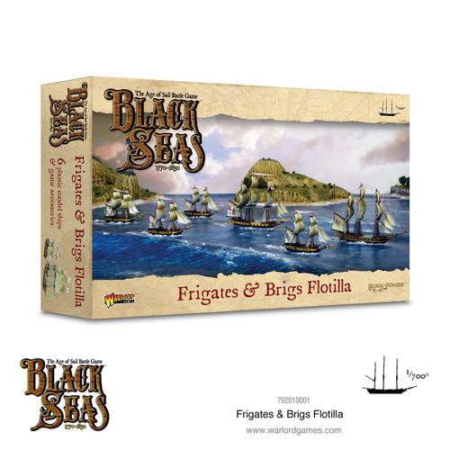 Black Seas: Frigates and Brigs Flotilla (1770-1830)