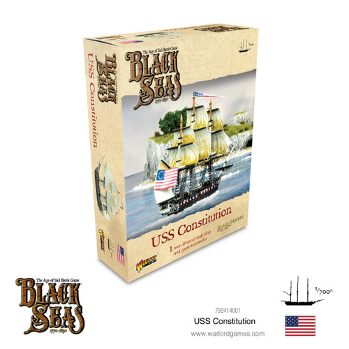 Black Seas: USS Constitution