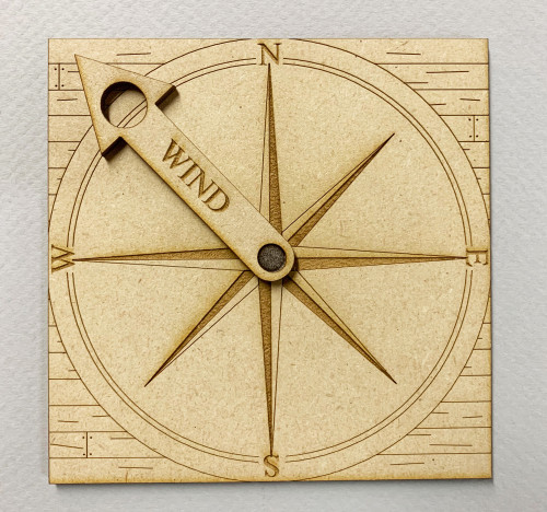 Black Seas: Wind Rose - Version 2 (Durable MDF)
