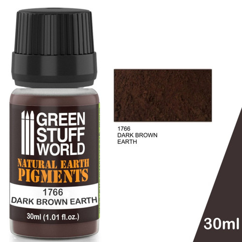 Pigment DARK BROWN EARTH