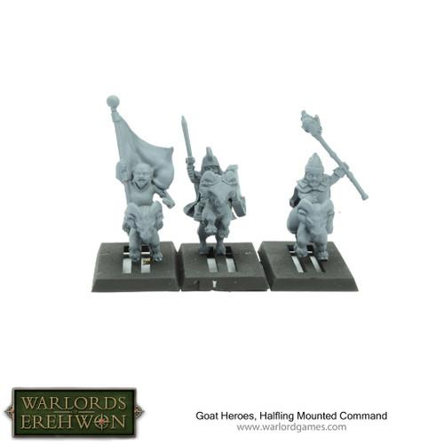 Hobbit / Halfling Goat Rider Heroes & Command