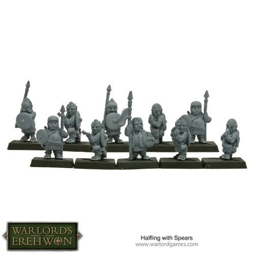 Hobbit / Halflings with Spears