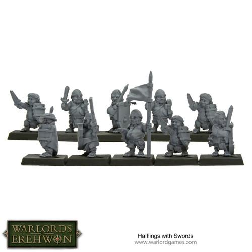 Hobbit / Halflings with Swords