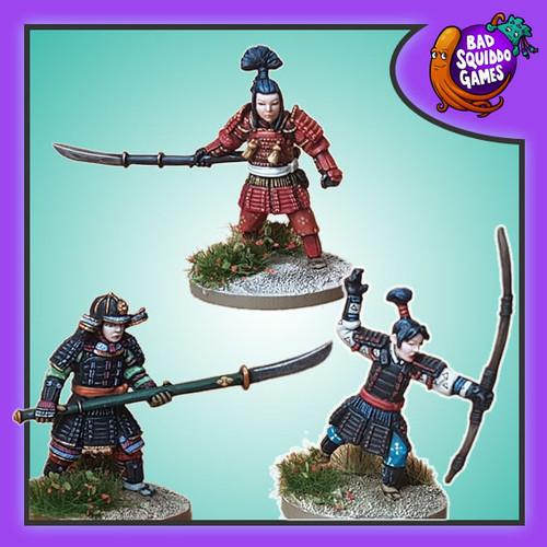 Onna-bugeisha - Naginata & Yumi (3)