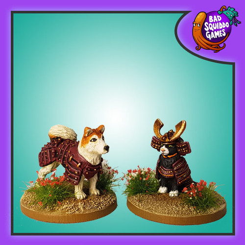 Bushidoge & Shogun Meow