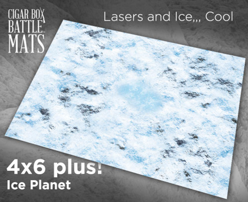 Battle Mat - Ice Planet