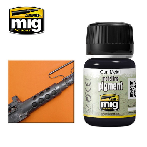 AMMO: Pigments - Gun Metal (35ml)