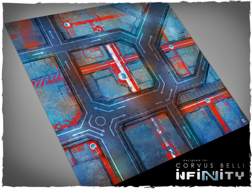 Game mat - PanOceania - Mousepad 4x4