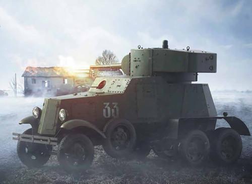 BA-3 / BA-6 Soviet Heavy Armored Car