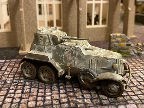 BA-10 Soviet Heavy Armored Car