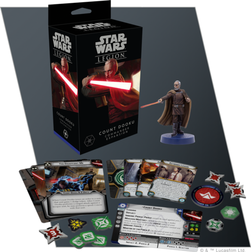 Star Wars: Legion - Count Dooku Comander Expansion