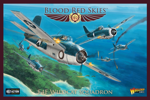 Blood Red Skies: US F4F Wildcat Squadron