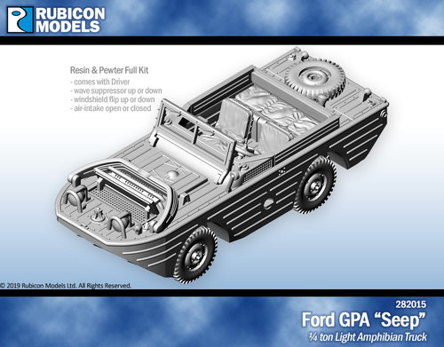 "Ford GPA ""Seep""- Resin"