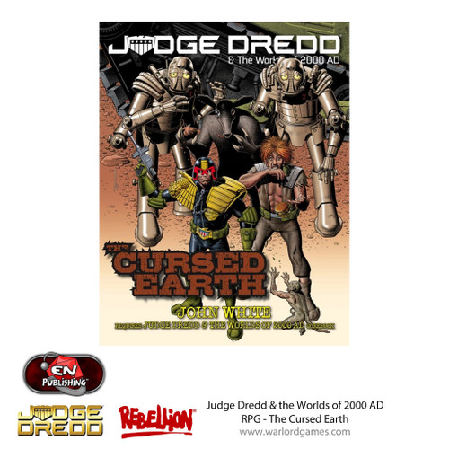 Judge Dredd RPG: Cursed Earth