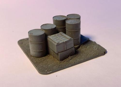 28mm Barrels and Crates - 28MSCE014