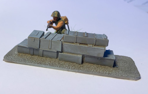 28mm Stack Of Crates - 28MSCE019