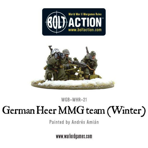 Bolt Action: German Heer MMG Team, Winter