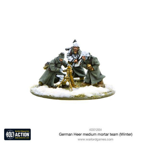 Bolt Action: German Medium Mortar Team, Winter