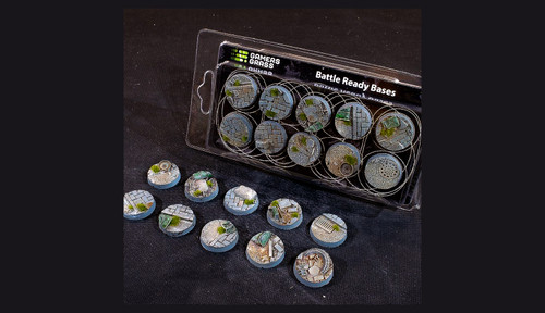 Battle Ready Bases: Urban Warfare Bases Round 25mm (x10)
