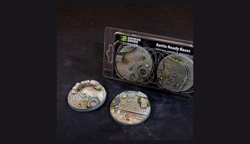 Battle Ready Bases: Urban Warfare Bases Round 60mm (x2)