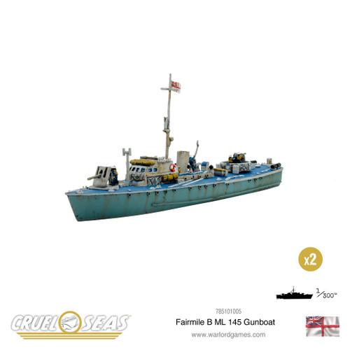 Cruel Seas: Fairmile B ML 145 Gunboat
