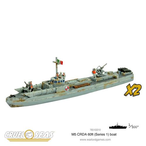 Cruel Seas: M5 CRDA 60t (Series 1) Boat