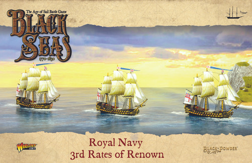 Black Seas: Royal Navy 3rd Rates of Renown