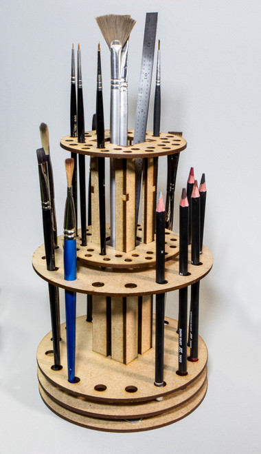 Brush Carousel - Fully Assembled, Ready To Use
