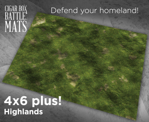 Battle Mat - Highlands