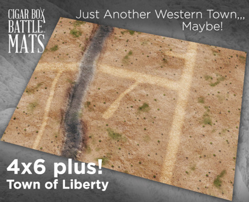 Battle Mat - Town of Liberty