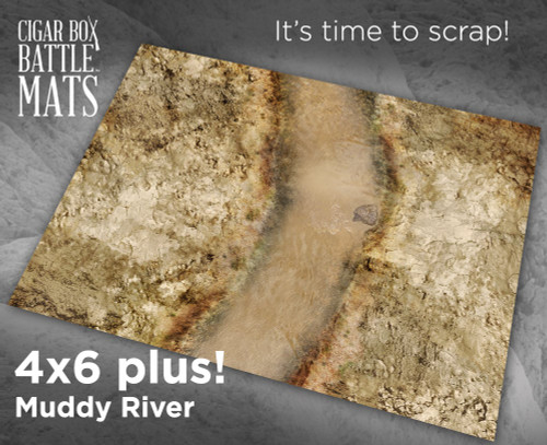 Battle Mat - Muddy River