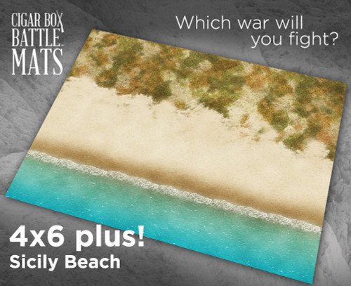 Battle Mat - Sicily Beach