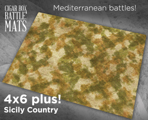 Battle Mat - Sicily Country