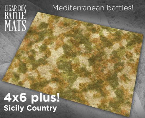 Battle Mat - Sicily Country