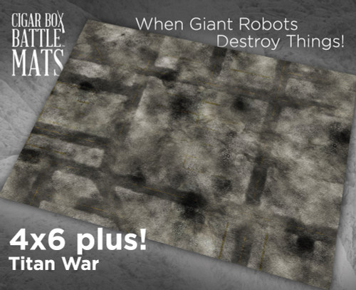 Battle Mat - Titan War